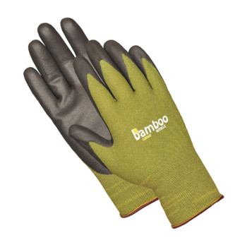 INTREPID INTERNATIONAL Bellingham Bamboo Nitrile Palm Medium Green Glove (AGC5371M)