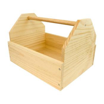 INTREPID INTERNATIONAL Wooden 12x16x11in Unassembled Tack Box (SRWTB)