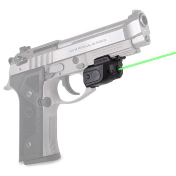 LASERMAX Lightning Rail Mounted Green Laser with GripSense (GS-LTN-G)