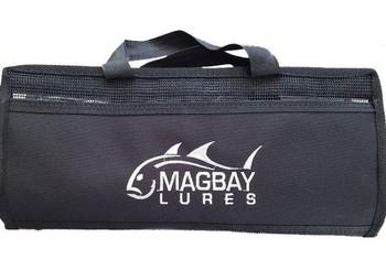 MAGBAY LURES Tackle Storage 6-Pocket Black Lure Bag (LURE-BAG-6PKT)