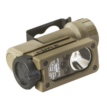 STREAMLIGHT Sidewinder Compact II 55 Lumens Flashlight with Helmet Mount (14512)