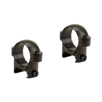 BURRIS Zee Weaver-Style 1in Low Matte Black Rings (420083)