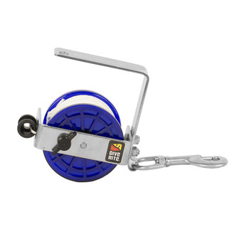 DIVE RITE Classic White 140ft Line Safety/Cavern Reel (RE4100)