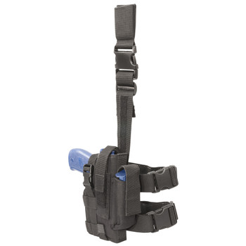 ELITE SURVIVAL SYSTEMS Tactical Thigh Right Hand Black Holster (7677-B-RH)