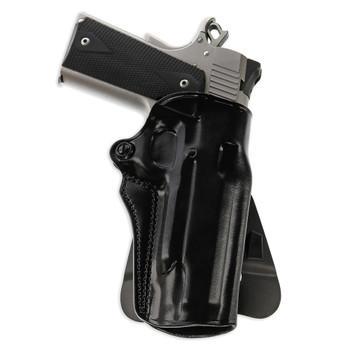 GALCO Speed Master 2.0 Ruger SP101 2.25in RH Black Paddle/Belt Holster (SM2-118B)