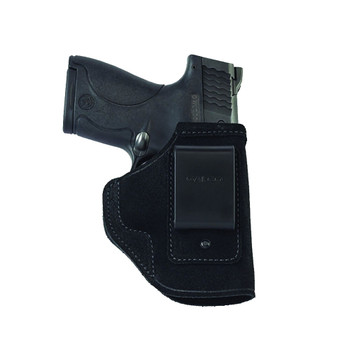GALCO Stow-N-Go S&W M&P Shield W/Ctc Laserguard RH Black Inside The Pant Holster (STO658B)
