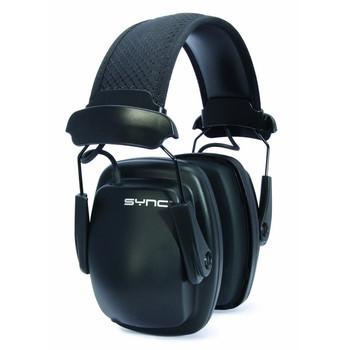 HOWARD LEIGHT Sync Noise-Blocking Black Stereo Earmuffs (1030110)