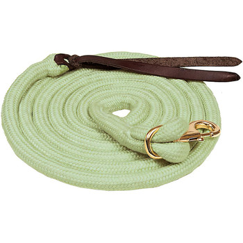 MUSTANG Bamboo Cowboy 5/8in x 10ft Green/Bamboo Lead (5999-E)
