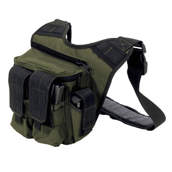 US PEACEKEEPER RDP Rapid Deployment Pack OD Green/Black Soft Bag (P20305)