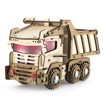 WOODBY Toy Truck 3D Wooden Puzzle