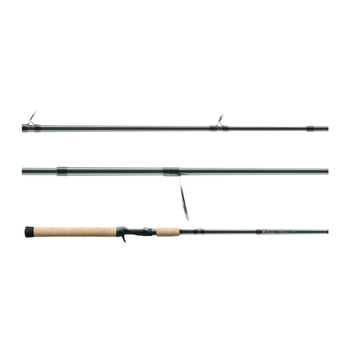 ST.CROIX ROD Avid Trek 6ft 6in Medium Heavy/Fast 3pc Casting Rod (ATC66MHF3)