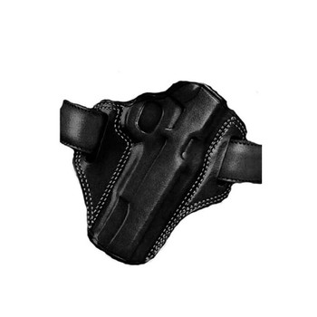 GALCO Combat Master Ceska Zbrojovka CZ75B 9mm Right Hand Leather Belt Holster (CM222B)