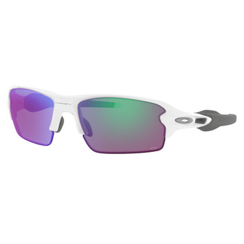 OAKLEY Flak 2.0 Polished White/Prizm Golf Sunglasses (OO9295-06)