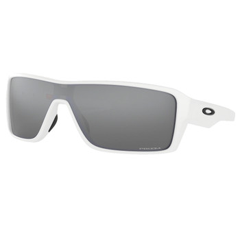 OAKLEY Ridgeline Polished White/Prizm Black Sunglasses (OO9419-0227)
