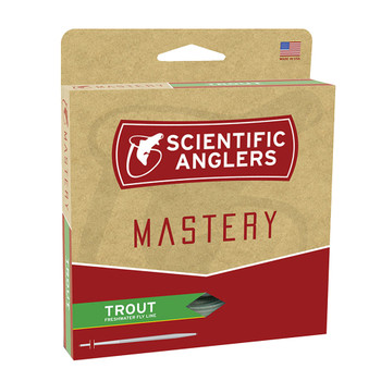 SCIENTIFIC ANGLERS Mastery Trout WF-2-F Optic Green/Green Fly Line (102827)