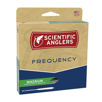 SCIENTIFIC ANGLERS Frequency Magnum WF-8-F Optic Green Fly Line (117234)