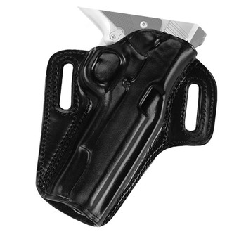 GALCO Concealable Black Right Hand Belt Holster for Kimber 4in 1911 with Rail (CON666B)