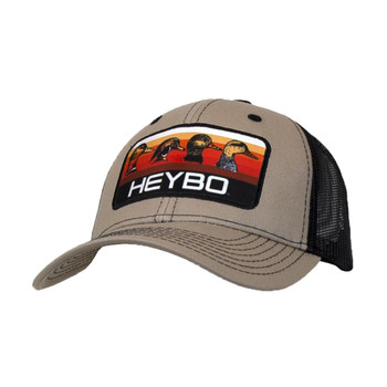 HEYBO Duckhead Sunrise Patch Khaki Cap (HEY7391)