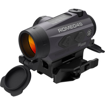SIG SAUER ROMEO4S  Ballistic Reticle 1x20mm Qr Solar Red Dot Sight (SOR43021)
