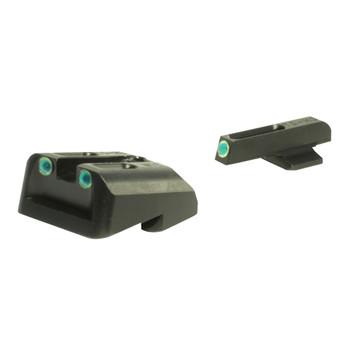 TRUGLO TFO Fiber Optic Fits Novak 1911 .270/.450 Handgun Sight Set (TG131NT2)