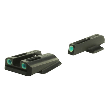 TRUGLO Brite-Site TFO Green Ruger LC Handgun Sights (TG131RT2)