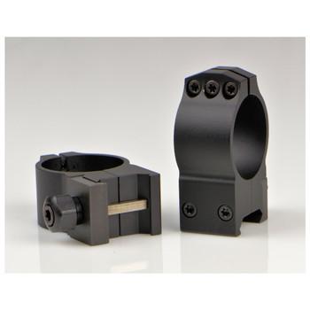 WARNE TACTICAL 30mm Fixed Medium Matte Rings (614M)