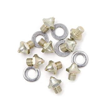 KORKERS Triple Threat Carbide Spike Kit with Washers, 7mm, 40-Pack (OA9045)