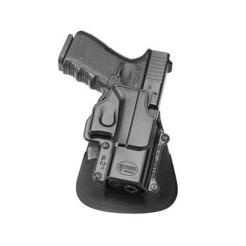 FOBUS Evolution Left Hand Roto Paddle and Belt Holster For Glock 17/19/22/23/31/32/34/35 (GL2E2RPL)