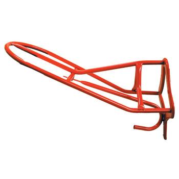 INTREPID INTERNATIONAL Wall Mount Forward Seat Red Saddle Rack (106914)