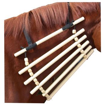 INTREPID INTERNATIONAL Wooden Horse Neck Cradle (9900)