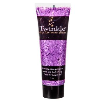 INTREPID INTERNATIONAL Twinkle Glitter Purple 4oz Gel (TP0105)