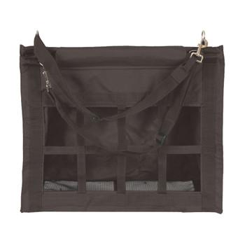 MUSTANG Top Load Black Hay Bag (1389-D)