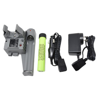 STREAMLIGHT Stinger PiggyBack Smart Charger With Battery And AC Wall Cord And DC Car Cord (75277+22060+22051-BUNDLE)