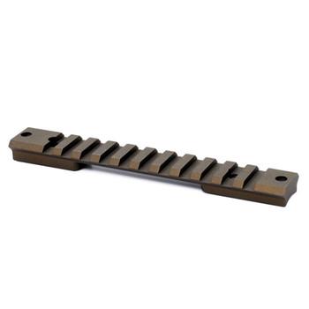 WARNE Mountain Tech Burnt Bronze Tactical Rail for Remington SA (7673BB)