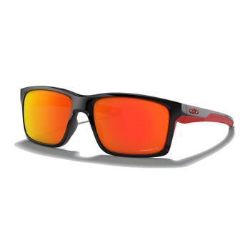 OAKLEY Mainlink XL Polished Black /Prizm Ruby Polarized Sunglasses (OO9264-4661)
