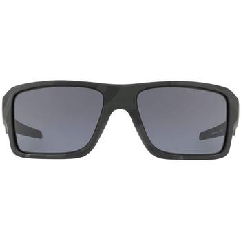 OAKLEY SI Double Edge Multicam Black/Gray Sunglasses (OO9380-1166)