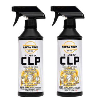 BREAKFREE CLP-5 Cleaner Lubricant Preservative with Trigger Spraye, Set of 2 (CLP5-x2-BUNDLE)