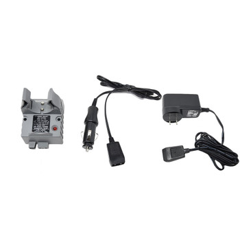 STREAMLIGHT Stinger Smart Charger Holder with 100V/120V AC Charge Cord and 12V DC Car Charge Cord (22051-22060-75105-BUNDLE)