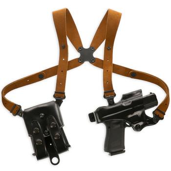 GALCO Jackass Rig Black Right Hand Shoulder System For Beretta 92F/FS (JR202B)