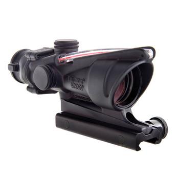 TRIJICON ACOG 4x32 .223/5.56 Red Horseshoe/Dot Reticle BAC Riflescope with Thumbscrew Mount (TA31H)