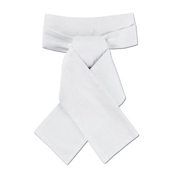 OVATION Unisex Classic Stock Tie (400268WHT)