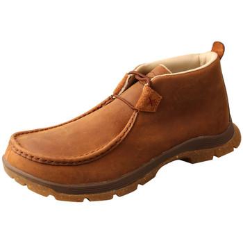 TWISTED X Men's Chukka Oiled Saddle Oblique Toe (MFS0003)