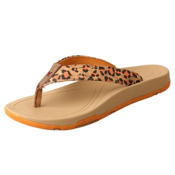 TWISTED X Women's Tan/Orange Sandal (WSD0035)