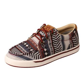TWISTED X Kid's Hooey Loper Dark Baja Casual Shoe (YHYC006)
