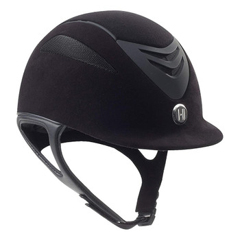 ONE K Defender Air Suede Helmet (468736BKMAT)