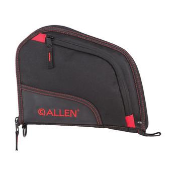 ALLEN COMPANY Auto-Fit 9in Black/Red Handgun Case (7738)