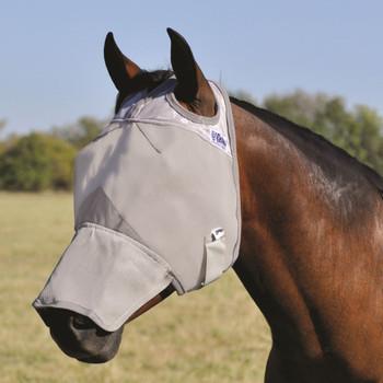 CASHEL Crusader Long Nose Weanling/Small Pony Fly Mask (CFMWL)