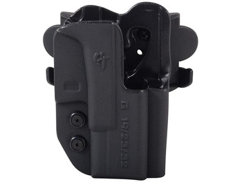 COMP-TAC International OWB Modular Mount Walther CCP RSC Black Holster (C241WA214RBKN)