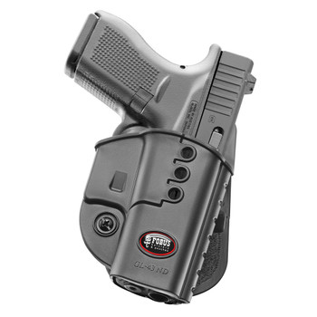 FOBUS Right Hand Evolution Paddle Holster for Glock 43 (GL43ND)
