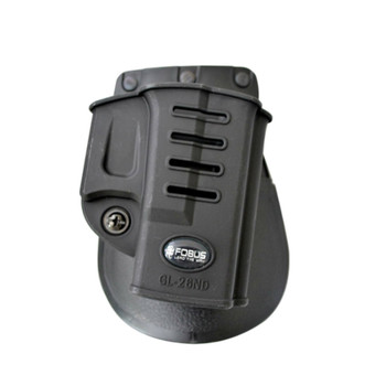FOBUS Evolution Right Hand Paddle Holster Fits Glock 26,27,28,33 (GL26ND)